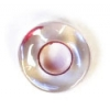 Glass Rings 32/0 Crystal Red Lined Luster With 2.8mm Hole